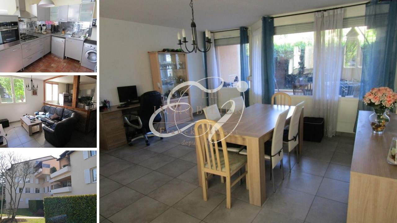 Vente vente ecully 69130 appartement t4 95m habitable for Acheter maison ecully