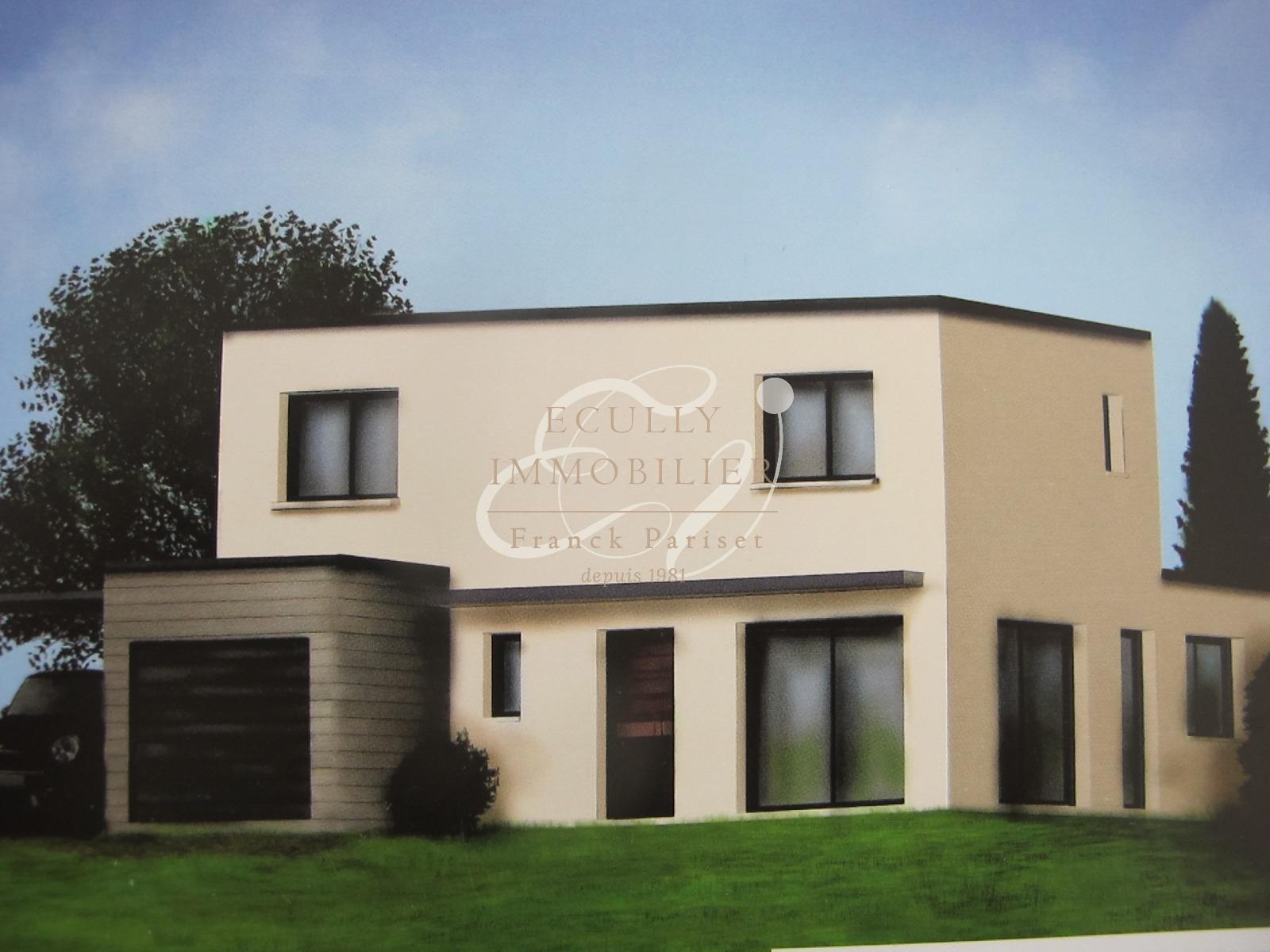 Vente vente dardilly 69570 construction maison de ville for Vente maison en construction